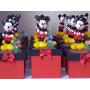10 Lembrancinhas Mickey Ou Minnie Caixinhas Em Biscuit