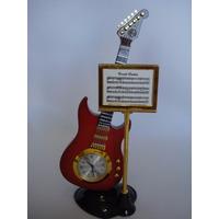 Relógio Guitarra Decoração Vintage