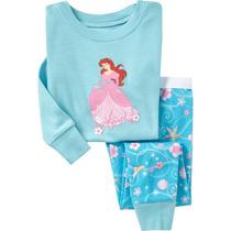 Pijama Infantil Princesa Ariel - Tamanho 2 Anos
