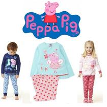 Pijama Infantil Peppa E George Pig - Pronta Entrega