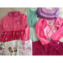 Lote 9 Pçs Roupas Menina 6/8 Anos Lilica Zara Girls Barbie