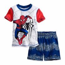 Pijama Infantil Homem Aranha Spider Man Disney/marvel 7 Anos