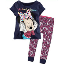 Pijama Infantil Meninas Minnie Mouse 3 Anos