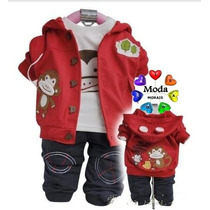 Conjunto Infantil Menino Inverno (pronta Entrega)