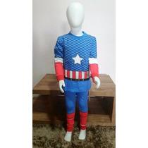 Importado China | Pijama Do Capitão América | 2 Anos