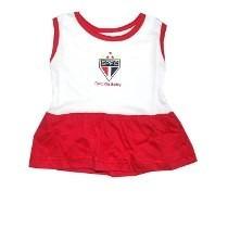 Vestido Infantil São Paulo Futebol Clube
