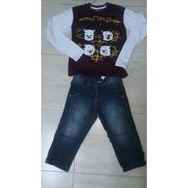 Conjunto Tigor Jeans