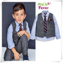 Conjunto Slim Fit Luxo Social Menino Garoto Infantil