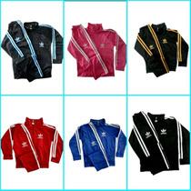 Conjunto Infantil Adidas C/3 Agasalhos Tam: 02 Ao 16