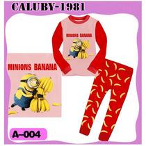 Pijama Minions Meu Malvado Favorito Pronta Entrega