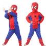 Fantasia Do Homem Aranha Infantil Spiderman Longo Festa