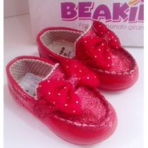 Sapatilha Infantil Feminina Mocassim Beakid Baby