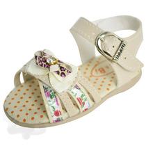 Sandália Para Bebê Infantil Menina Gatinha - Bê & Bi