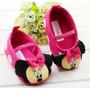 Sapatinho Bebê Antiderrapante Infantil Disney Minnie Menina