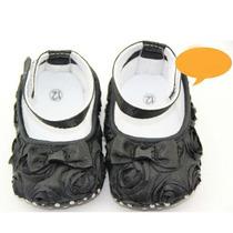 Sapatinho De Bebê Preto - Produto Importado