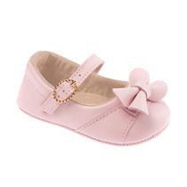 Sapato Baby Classic Rosa Bebê Pimpolho Babyou