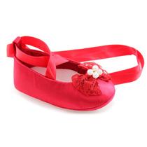 Sapato Infantil Bebe Menina Bailarina Turma Do Pé - 4babies