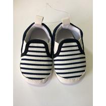 Sapato Bebe Menino - Tênis Bebê Importado Listrado