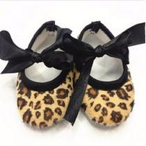 Sapato Bebê Oncinha Onça Maternidade Infantil Criança+brinde