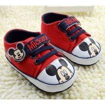 Tênis Sapato Sapatinho Bebe Menino Mickey Importado