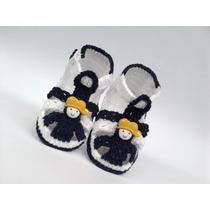 A211 Sandalia De Croche Varios Modelos Sapatinho Bebe Menino
