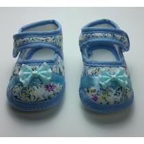 Sapato Bebê - Calçado Floral Recem Nascido - Frete Grátis