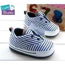 Sapato Infantil Menino Lindo Cheio De Estilo Azul