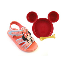Sandalia Mickey E Minnie Disney Gourmet + Brinde