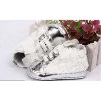Sapato Infantil Bebê Femini - Sapatinho P Batizado , Festas