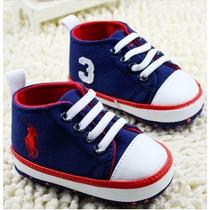 Tênis Sapato Sapatinho Bebe Menino Polo