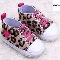 Tênis Bota Sapatinho Bebê Oncinha Sneaker Maternidade Sapato