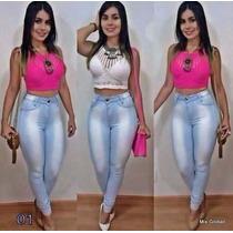 Calça Jeans Feminina Cintura Alta Hot Pants [roupas Moda]