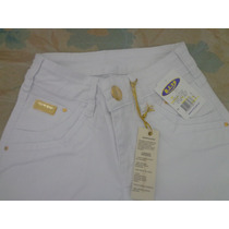 Calça Jeans Feminina Ri19 Branco, Imperdível!!!