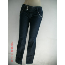 Linda Calça Jeans C/ Elastano- Sawary Nº 40