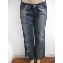 Calça Jeans Poty Ro Tam 42 Tipo Customizada, Ótimo Estado