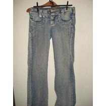 Calça Jeans C/ Strass Da Biotipo Tam 38