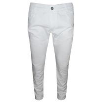 Calça Jeans Calvin Klein Branca Elastano Skinny