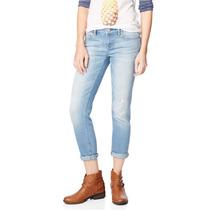 Aeropostale Bayla Womens Destroyed Skinny Fit Jeans