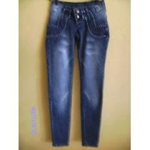Ca042 - Calça Jeans Com Stretch Manequim 36