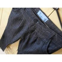 Lindíssima Calça Sarouel Black Blue Suez Coleção Nova Num 36