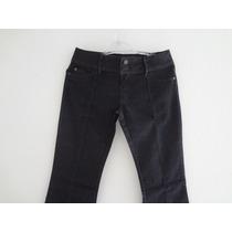 Calça Jeans Feminina Boca De Sino Skenn Novo