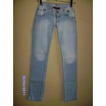 Ca051 - Calça Jeans Com Stretch Manequim 36 Lafaeti