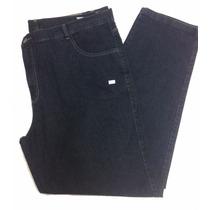 Calça Masculina Jeans Básica Com Elastano Pequeno Defeito