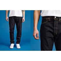 Levis Calça Jeans 501 Ct W32 L34 Tapered Leg - 181730006