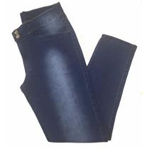Saldo Calça Feminina Jeans Com Algodão Plus Size Defeitos
