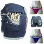 Kit 20 Shorts Jeans Personalizados Mais 40 Calcinhas