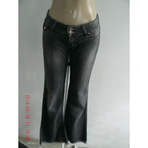 Linda Calça Jeans Com Elastano (fem) Sawary Tam; 40