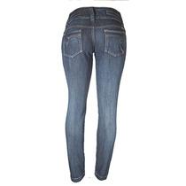 Calça Jeans Azul Feminino Cós Médio Tamanho 46 Ref 1498