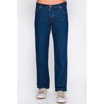 Calça Jeans Masculina Tradicional Básica 100% Algodão