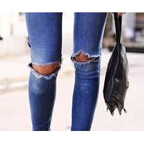 Calça Jeans Desfiada